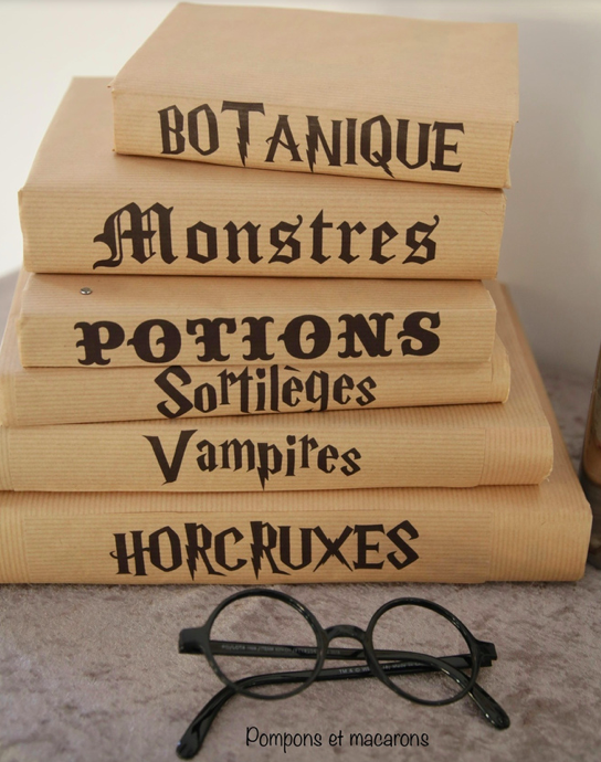 Photo de livres décoratifs Harry Potter